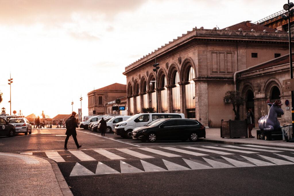 Viewpoints in Marseille: Gare de Marseille - Saint-Charles