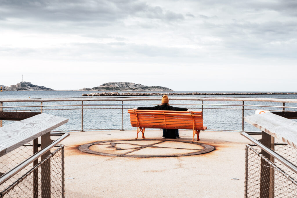 Viewpoints in Marseille: Plage des Catalans