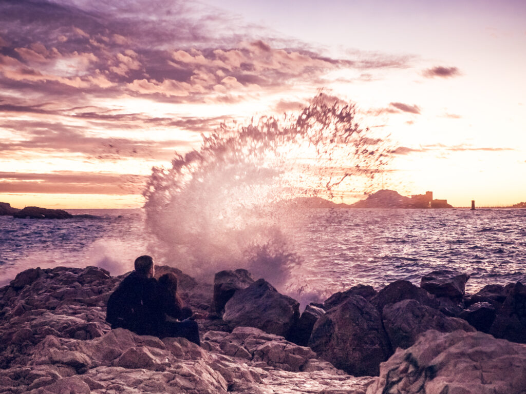 Viewpoints in Marseille: Vallon des Auffes