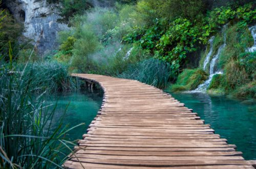 How to experience Plitvice without people